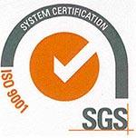 SGS Certificato Iso 9001